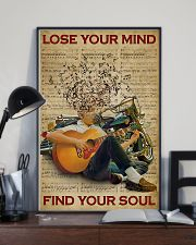 Find Your Soul Guitar Music 11x17 Poster lifestyle-poster-2