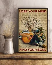 Find Your Soul Guitar Music 11x17 Poster lifestyle-poster-3