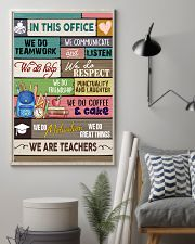 In This Office We Are Teachers 11x17 Poster lifestyle-poster-1