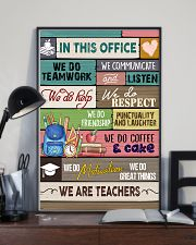 In This Office We Are Teachers 11x17 Poster lifestyle-poster-2