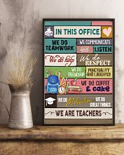 In This Office We Are Teachers 11x17 Poster lifestyle-poster-3