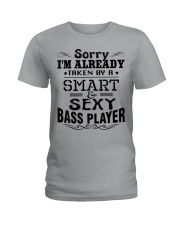 Smart And Sexy Bass Player Ladies T-Shirt tile