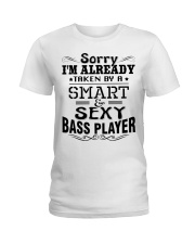 Smart And Sexy Bass Player Ladies T-Shirt front