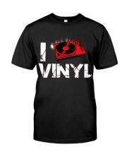 DJ vinyl Classic T-Shirt front