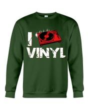 DJ vinyl Crewneck Sweatshirt thumbnail