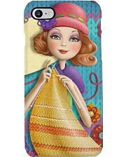 Crochet And Knitting Pretty Girl Phone Case i-phone-7-case