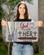 Ballet - God is within her she will not fall 17x11 Poster poster-landscape-17x11-lifestyle-19