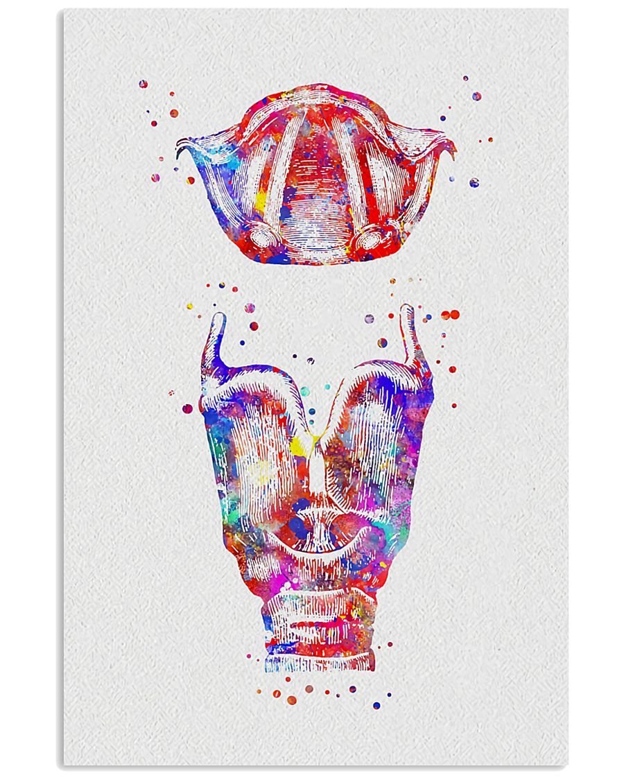 SLP Larynx And Vocal Cord 11x17 Poster