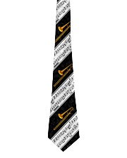 Trombonist Trombone And Music Notes Tie front