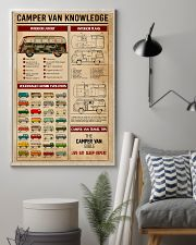 Camper Van Knowledge Camping  11x17 Poster lifestyle-poster-1