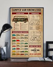 Camper Van Knowledge Camping  11x17 Poster lifestyle-poster-2