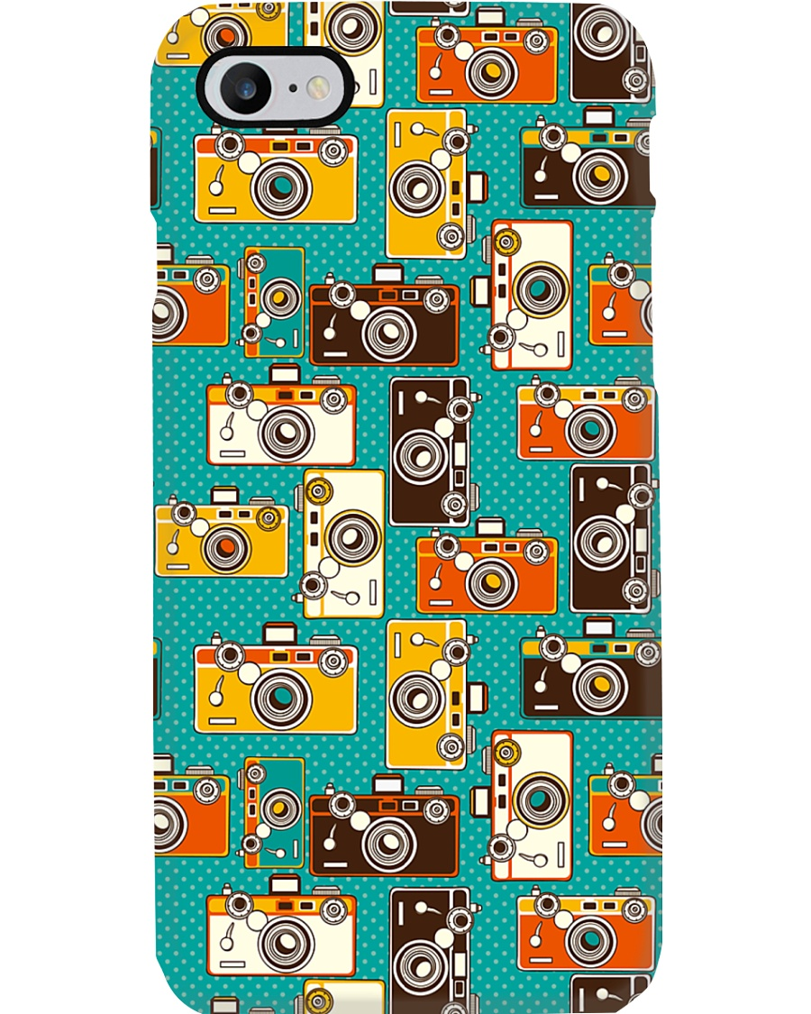 Many Color Cameras Photographer Phone Case