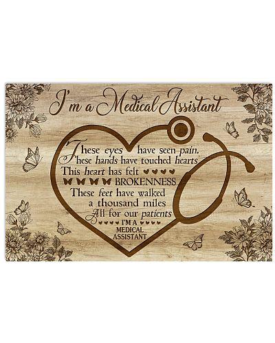 I'm a Medical Assistant