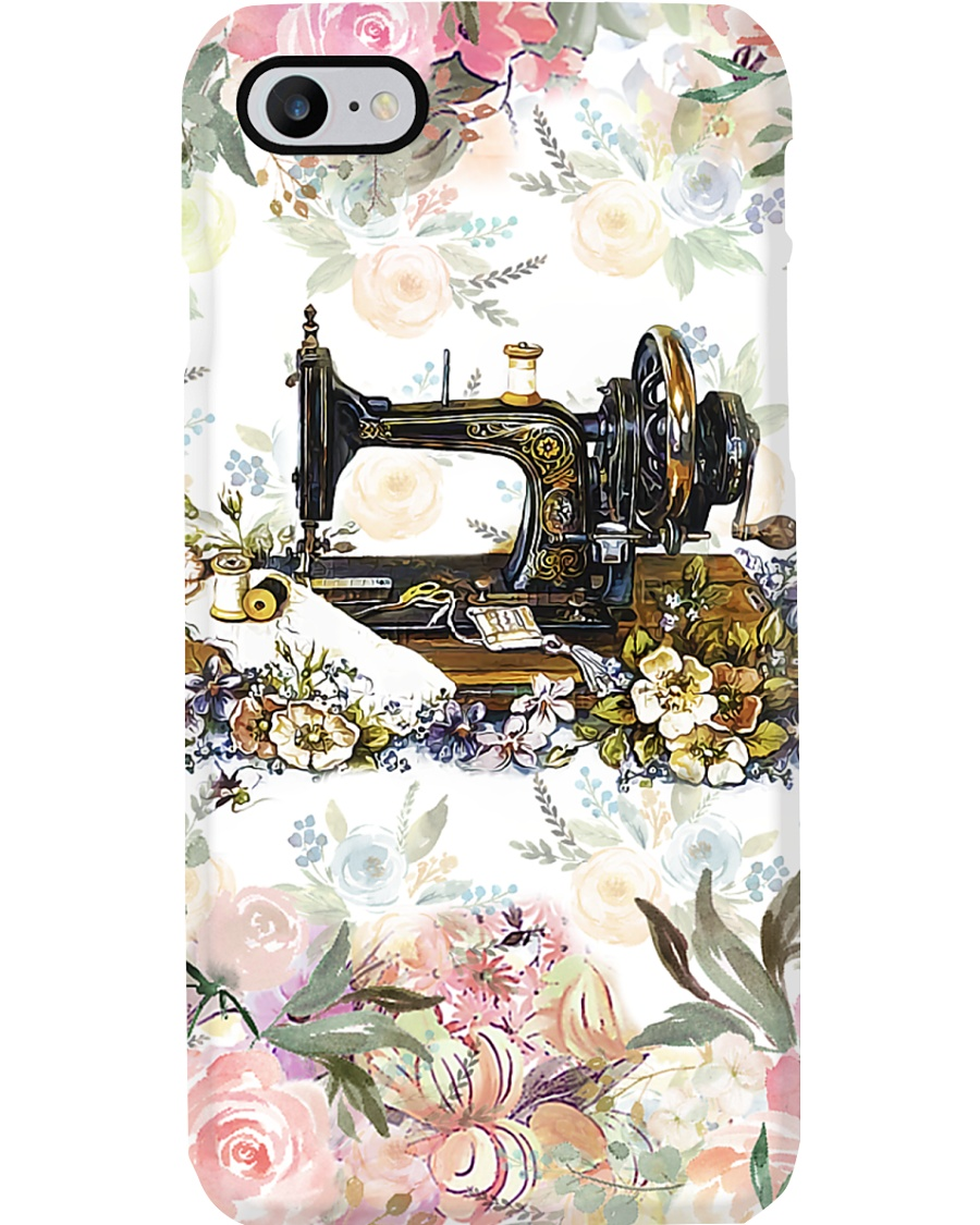 Sewing Floral Phone Case