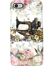 Sewing Floral Phone Case i-phone-7-case