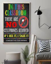 Teacher No Cellphone In Class 11x17 Poster lifestyle-poster-1