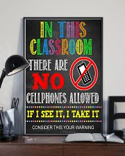 Teacher No Cellphone In Class 11x17 Poster lifestyle-poster-2