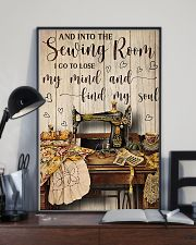 Into The Sewing Room I Go To Lose My Mind 11x17 Poster lifestyle-poster-2