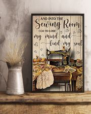 Into The Sewing Room I Go To Lose My Mind 11x17 Poster lifestyle-poster-3