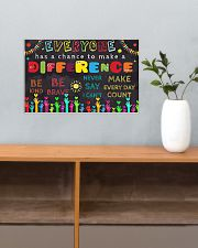 Everyone Has A Chance To Make A Difference 17x11 Poster poster-landscape-17x11-lifestyle-24