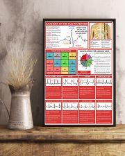 ECG Waveform Cardiologist 11x17 Poster lifestyle-poster-3