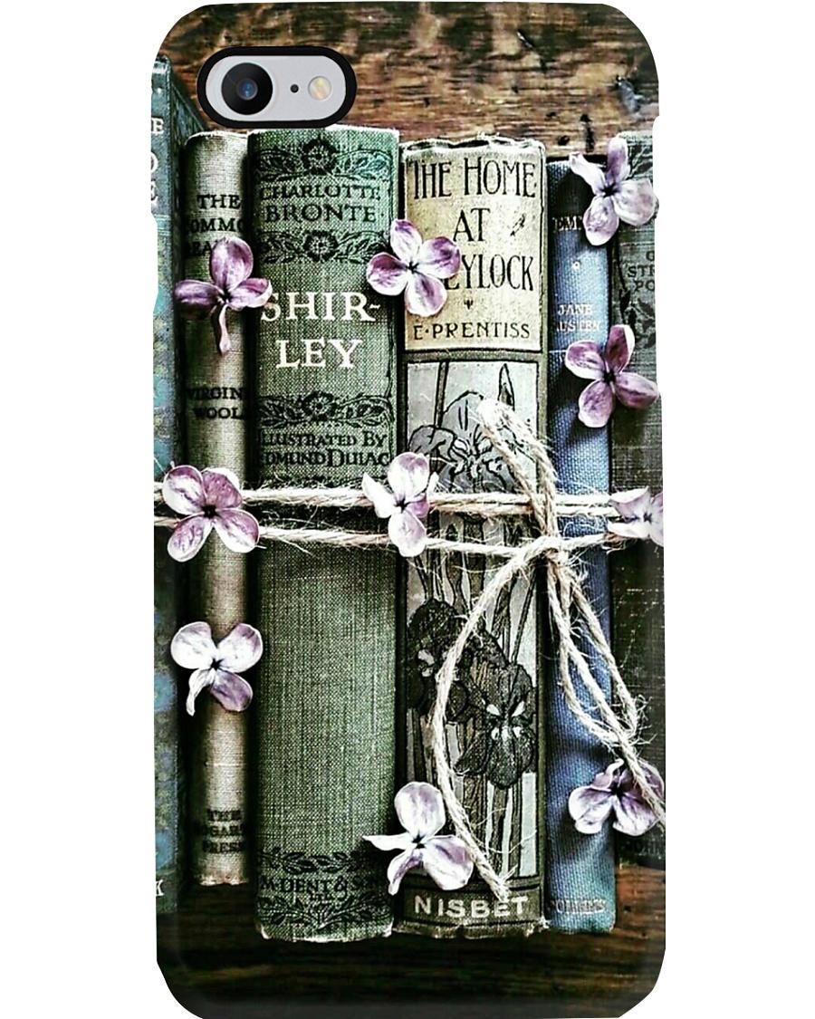 Librarian Flower Vintage Books Phone Case