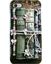 Librarian Flower Vintage Books Phone Case i-phone-8-case