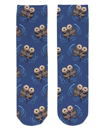 Otter Couple socks