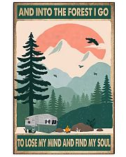 Camping Into The Forest 11x17 Poster front