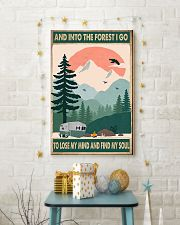 Camping Into The Forest 11x17 Poster lifestyle-holiday-poster-3