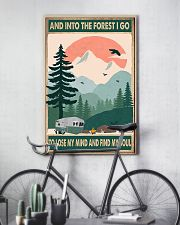 Camping Into The Forest 11x17 Poster lifestyle-poster-7