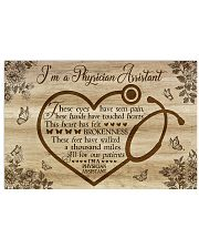 I'm a Physician Assistant  17x11 Poster front