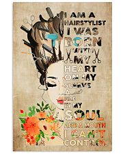 Hairdresser I'm A Hairstylist 11x17 Poster front