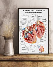 The Heart Knowlege Cardiologist 11x17 Poster lifestyle-poster-3