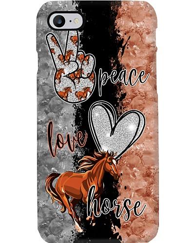 Peace Love Horse