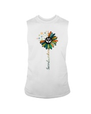 Social Worker Colorful Flower Sleeveless Tee thumbnail