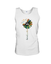 Social Worker Colorful Flower Unisex Tank thumbnail