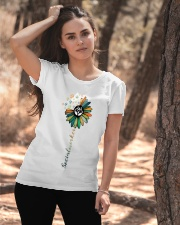 Social Worker Colorful Flower Ladies T-Shirt apparel-ladies-t-shirt-lifestyle-06