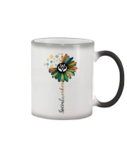 Social Worker Colorful Flower Color Changing Mug thumbnail