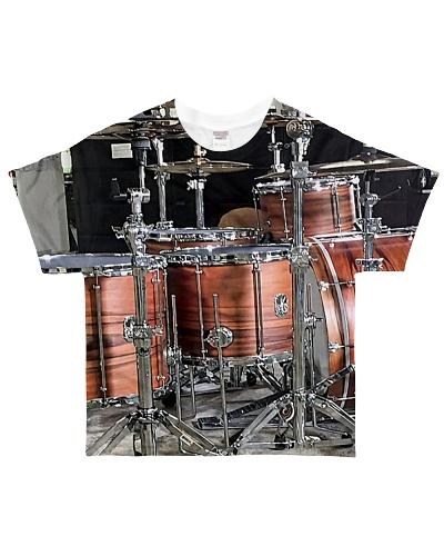 Drummer Brown Drum Set