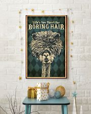 Hairdresser Life Is Too Short 11x17 Poster lifestyle-holiday-poster-3