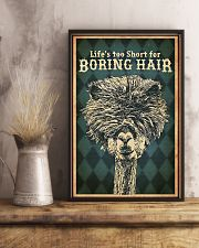 Hairdresser Life Is Too Short 11x17 Poster lifestyle-poster-3