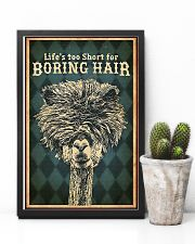 Hairdresser Life Is Too Short 11x17 Poster lifestyle-poster-8