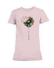 Occupational Therapist Colorful Caduceus  Premium Fit Ladies Tee thumbnail