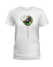 Occupational Therapist Colorful Caduceus  Ladies T-Shirt front