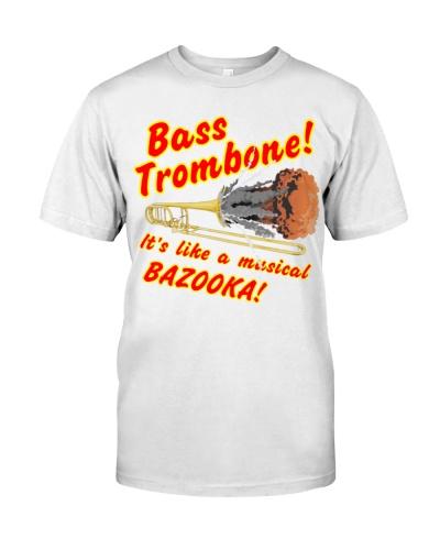 Bass trombone's like a musical bazooka