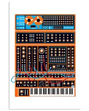 Orange Synthesizer Machine 11x17 Poster front