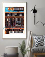 Orange Synthesizer Machine 11x17 Poster lifestyle-poster-1