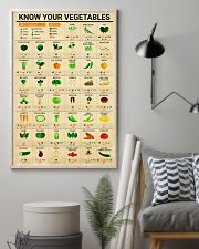 Registered Dietitian Know Your Vegetables 11x17 Poster lifestyle-poster-1