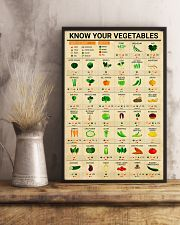 Registered Dietitian Know Your Vegetables 11x17 Poster lifestyle-poster-3